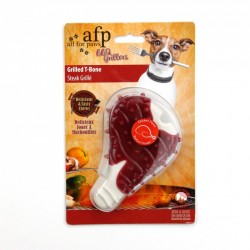 Juguete Masticable BBQ Grillers All For Paws - Chuleta 12,5cm
