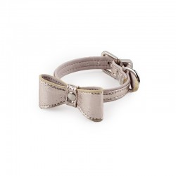All For Paws Collares Con Lazo Glamour Dog - Champán XS
