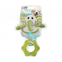 All For Paws Juguete Cachorro Dental - Elefante Goofy 26cm