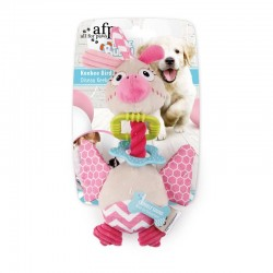 All For Paws Juguete Cachorro Dental - Pájaro Keekee 25cm