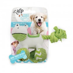 All For Paws Juguete Cachorro Dental - Rana Snick-Snack 20cm