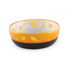 All For Paws Comederos Modern Cat para Gatos  - Naranja