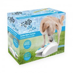 All For Paws Bebedero Jardin Fuente para Perros Chill Out
