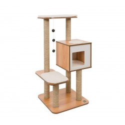 Mueble Rascador para Gatos V-High Base Vesper