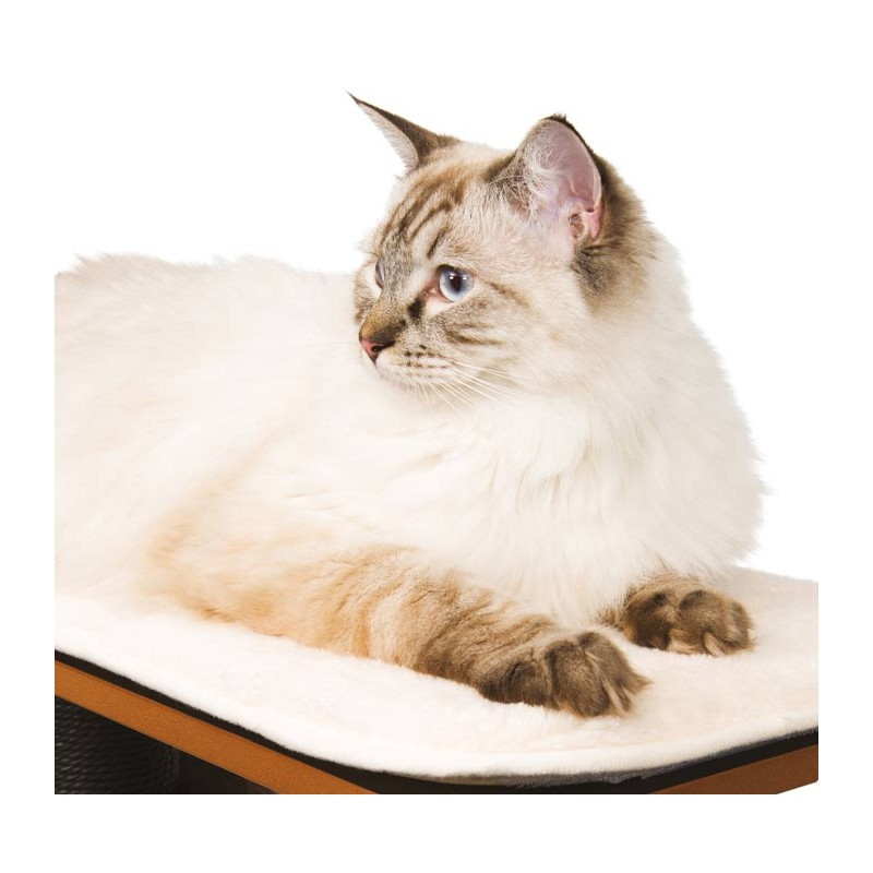 Mueble rascador para gatos v high base vesper - Mueble arenero para gatos ...