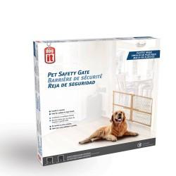 Barrera Extensible Perro Adulto y Razas Grandes Dogit - Plástico 66-106,5 x 58,5 cm (AnxAl)