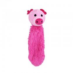 Pawise Happy Tail Juguete que bota  - Cerdo 34 cm