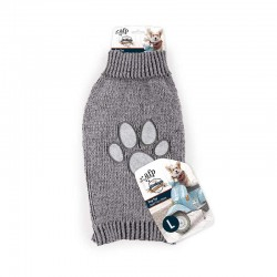 All For Paws Jersey Vintage Dog  - Huella Gris L