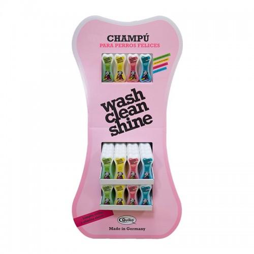 Expositor Wash Clean Shine Shampoo 60 Unidaddes