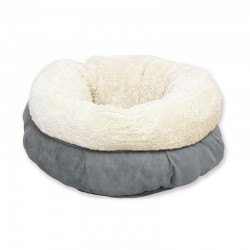 All For Paws Cama Donut Lam Cat   - Gris