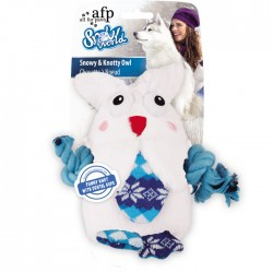 All For Paws Peluche Snowy & Knotty Snow World - Búho