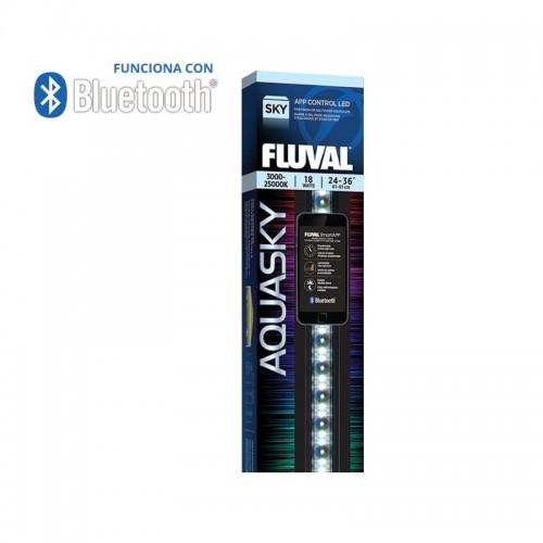 Pantallas de Iluminación Bluetooth Fluval AquaSky Led