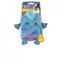 All For Paws Peluches Monstruosos Monster Bunch - Cuadrado Azul 18x16,6x5,5cm