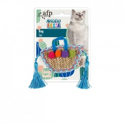All For Paws Juguetes para gatos Whisker Fiesta - Bolso 7,5x24x1,5cm