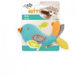 All For Paws Juguetes para gatitos Kitty  - Pajarito12,5x5,5x3cm