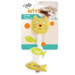 All For Paws Juguetes para gatitos Kitty  - Gato-Pez 23x9x3cm