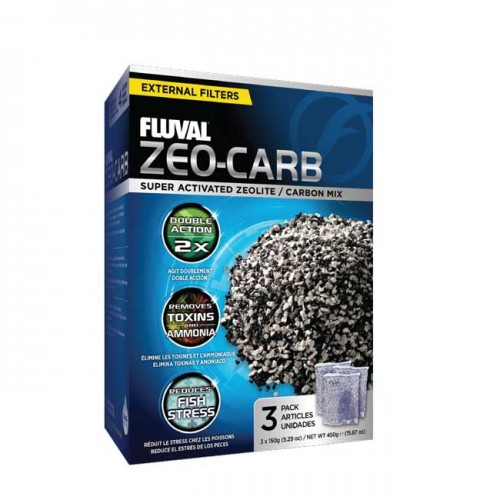 Zeo Carb para filtro externo Fluval