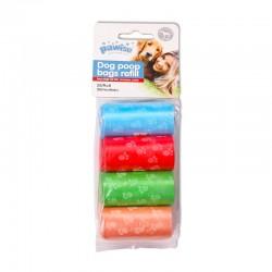 Pawise Rollos de 20 Bolsitas para Excrementos Multicolor   - 8 Und