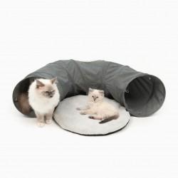 Catit Vesper Túnel con Cama  - Gris