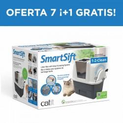Arenero Automático SMARTSIFT CATIT - Oferta 7 ¡+1Gratis!