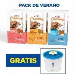 Pack de Verano Catit Creamy