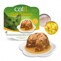 Catit Dinner comida húmeda de pescado 80g - Tilapia y patata