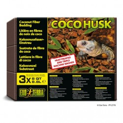 Sustrato Coco Husk EXO TERRA - Bricks 3x8.8l