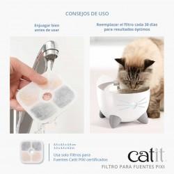 Filtros Fuente Catit PIXI
