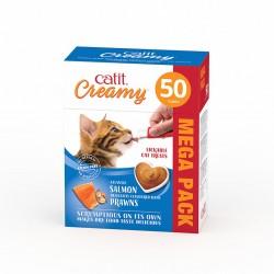Catit Creamy de Salmón y Gambas - 50 und
