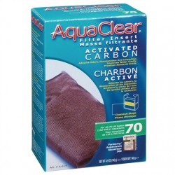 Cargas Filtrantes para Filtro Mochila AquaClear - Carbón 70