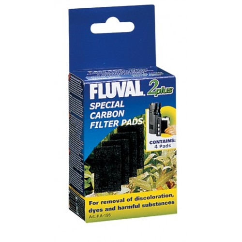 Carbón Para Filtro Interno FLUVAL plus