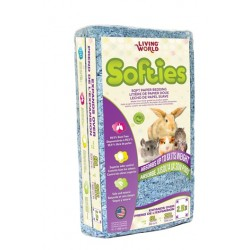 Lecho Sanitario Papel Suave SOFTIES 8 l - Azul