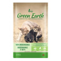 Arena para Gatos Biodegradable Green Earth CAT LOVE 8 kg