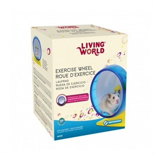 Rueda Ejercicio Plastica LIVING WORLD