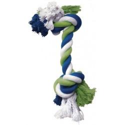 Cuerda Mordedor Algodón DOGIT - Azul/Lima 19cm
