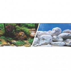 Fondo Decorativo 3D 7,6m Marina  - Jardin/Piedras 31,5cm