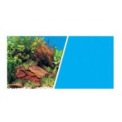 Fondo Dobles Decorativo MARINA 7,6m -  Plantas/Azul 45,7 cm