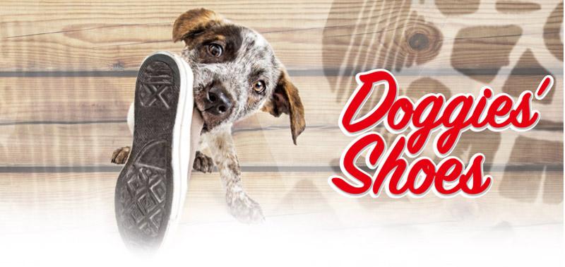 Colección de peluches para perros Doggie's Shoes