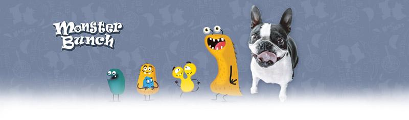 Colección juguetes para perros Monster Bunch