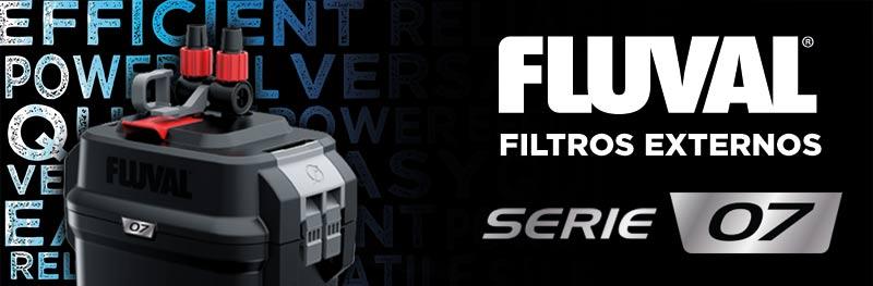 Banner de los filtros externos Fluval serie 07