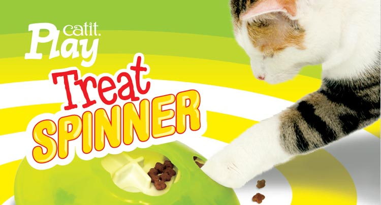 Comedero interactivo para gatos Treat Planner