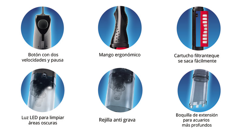 Características de la Aspiradora ProVac