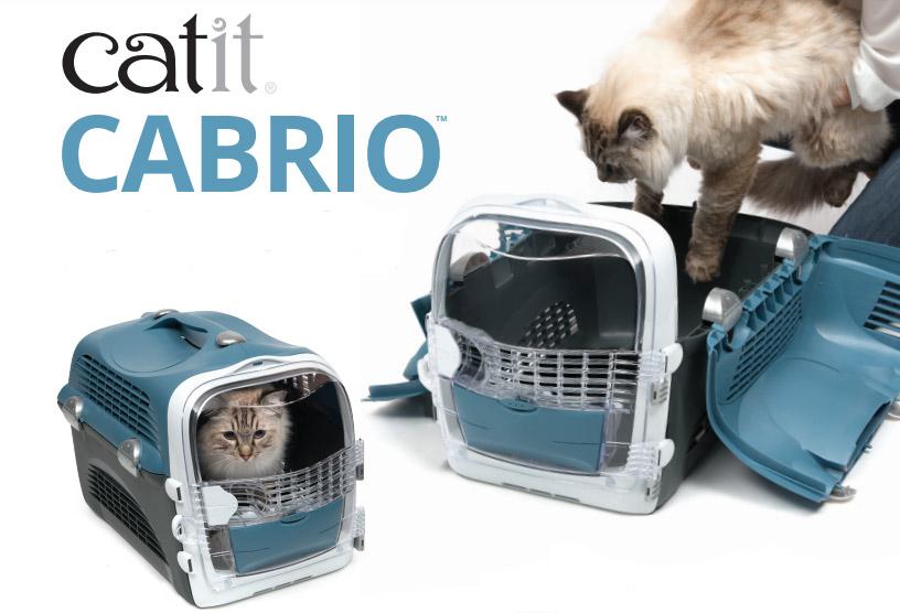 Transportin para gatos Catit Cabrio