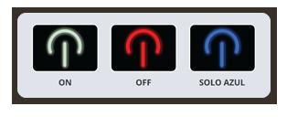 Control manual de las pantallas Fluval