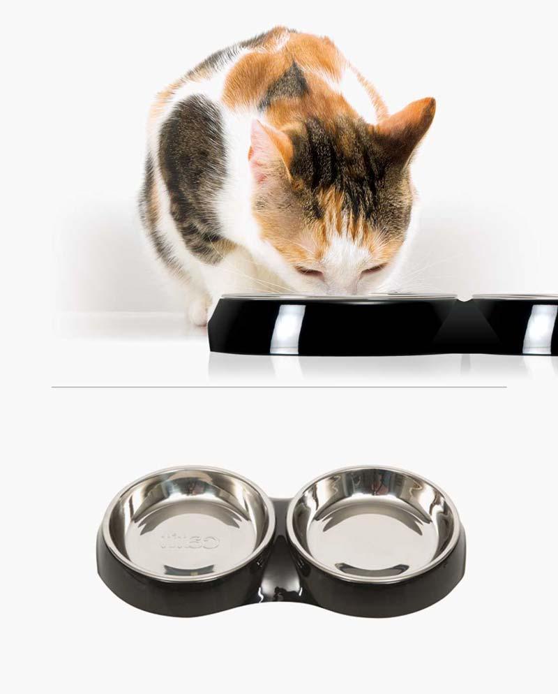 Comedero doble para gatos Catit