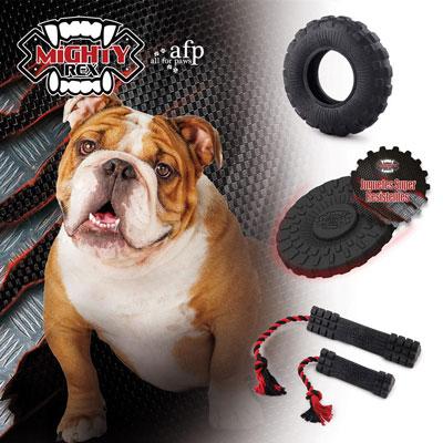 Juguete super resistente para perros Mighty Rex