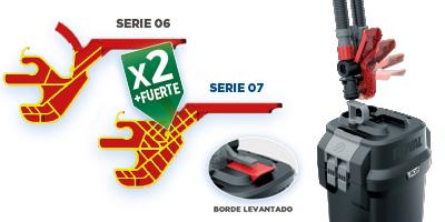 Rápido mantenimiento Fluval Serie 07