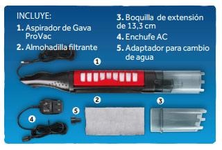 ¿Que incluye la aspiradora ProVac?