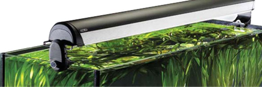 Glo, fabricantes de iluminación fluorescente para acuarios