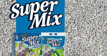 Arena aglomerante para gatos Catit Super Mix